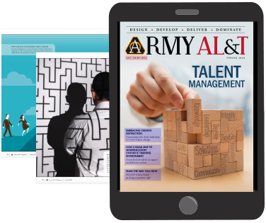 Army AL&T Digital Magazine Example