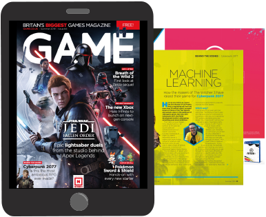 GAME Digital Magazine Example