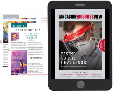 Lanacashire Business View Digital Magazine Example