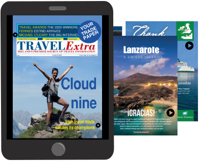 TRAVEL Extra Digital Magazine Example